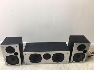 Polk audio speaker set! Total 3 for Sale in Malvern, PA