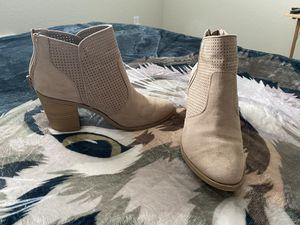 Tan heeled boots for Sale in Lynnwood, WA