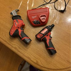Milwaukee Drill And Hackzall Set With Charger for Sale in Monroe Township,  NJ