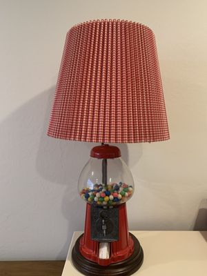 Vintage Samson's Products Gumball machine lamp for Sale in Monte Sereno, CA
