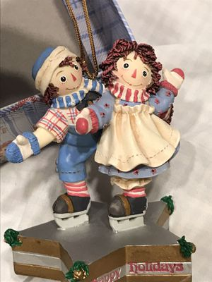 KURT ALDERS Raggedy Ann and Andy Ornaments for Sale in Madera, CA