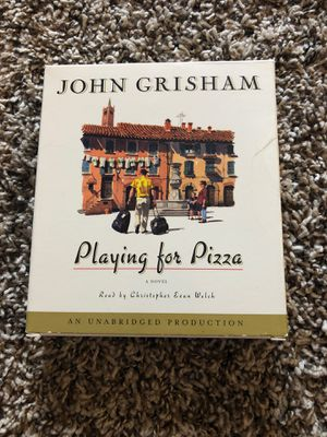 Playing for pizza by John Grisham book on CD for Sale in Aurora, CO