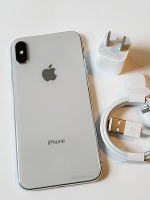 iPhone X, Factory Unlocked.. Excellent Condition. for Sale in Springfield, VA