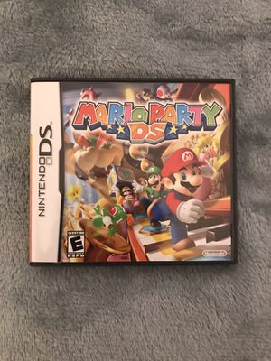 Mario Party DS for the Nintendo DS (Perfect Condition) for Sale in Hialeah, FL