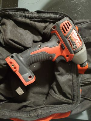 Milwaukee Impact Driver - Tool with bag for Sale in Houston, TX