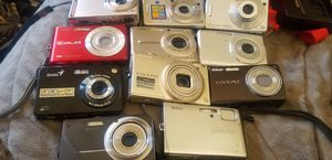 digital cameras all with batteries and working condition for Sale in Orangevale, CA