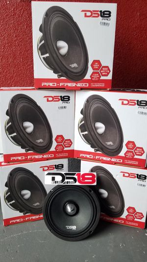 Ds18 Pro Audio Neo Extra loud voice speakers $70 eac(1)/Bocinas ds 18 Neo $70 cada una(1) for Sale in Houston, TX