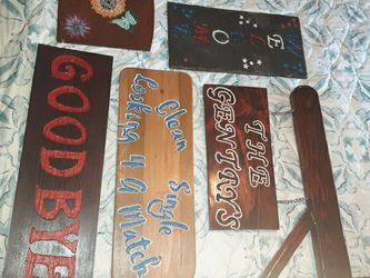 Signs And More Done The Way You Want Just Message For More Info for Sale in New Canton,  VA