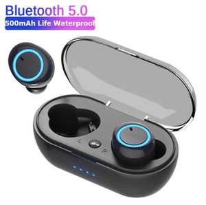 Fingerprint Touch Bluetooth Earphones HD Stereo Wireless Headphones Noise Cancelling for Sale in IND CRK VLG, FL