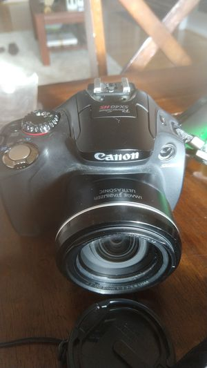 Canon PowerShot SX40 HS and accessories for Sale in Riverdale Park, MD