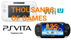 2020 PSVITA Wii Wii U 3DS 6,000 GAMES PLUS MORE for Sale in Chula Vista, CA