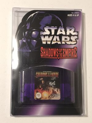 Limited Run Games Star Wars Shadows of the Empire N64 Nintendo 64 for Sale in Everett, WA