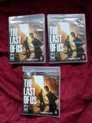 The last of us PS3 - 3 COPIES 15/EA OBO for Sale in Kirkland, WA