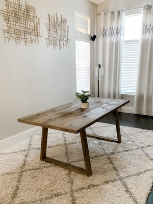 6FT x 3FT Farmhouse Dining Table for Sale in Fresno, CA