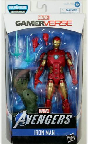 Marvel Legends Gamerverse Avengers Iron Man Collectible Action Figure Toy with Abomination Build a Figure Piece for Sale in Chicago, IL