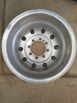 16 X 6 aluminum dually rim/wheel for Sale in Dixon, CA
