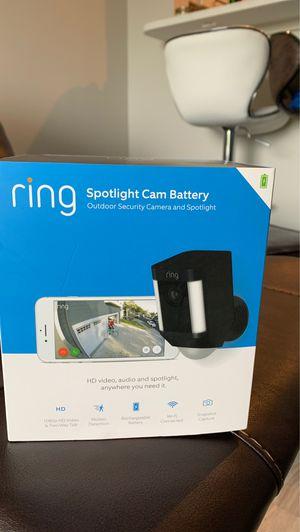 Ring Spotlight Cam for Sale in Manassas, VA