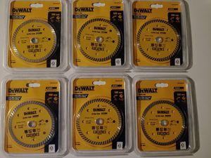 DEWALT Turbo Diamond Cutting Disc 4-Inch Cutting Blade 105mm x 15mm Tile for Sale in Dallas, TX