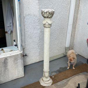 Italian Antique Pillar Lamp for Sale in Santa Monica, CA