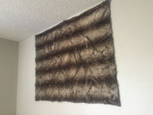Heavy fur blanket/coat/carpet for Sale in Tempe, AZ