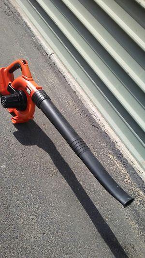 Black & Decker lawn and leaf blower / air broom for Sale in Tempe, AZ
