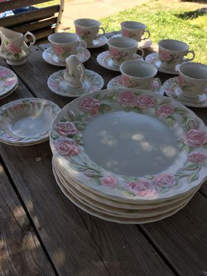 Vernon Rose China by Metlox for Sale in Amarillo, TX