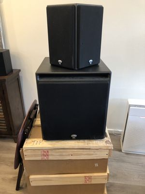 Klipsch THX Ultra II 5.2 Theater Speakers, or take individually for cheaper! for Sale in Seattle, WA