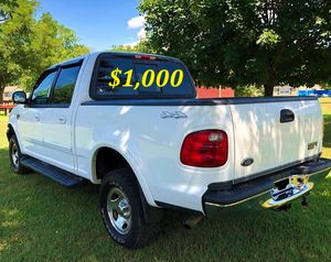 $1,000 I'm the first owner and i want to sell my 2002 Ford F-150 XLT no damage for Sale in Stamford, CT