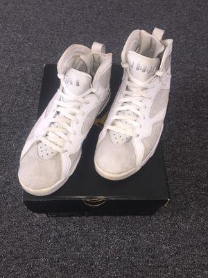 Jordan 7 Pure Platinum Size 11.5 for Sale in Coldwater, MI