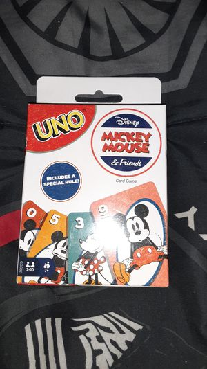 Uno disney Mickey mouse & friends card game for Sale in Los Angeles, CA