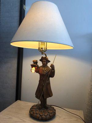 Vintage wood lamp for Sale in Winnetka, IL