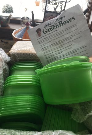 Set of 20 Debbie Meyer Ultra light green boxes. Never used. for Sale in Solon, OH