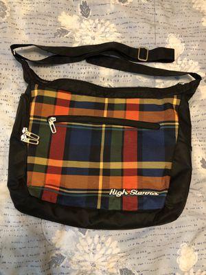 High Sierra plaid messenger bag backpack laptop bag for Sale in Whitesboro, TX