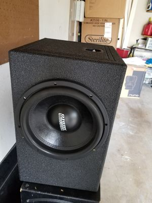 """I have a 12"""" sundown on Qbomb sounds amazing for Sale in Richardson, TX"""