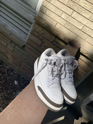 Jordan mocha 3's for Sale in Wauwatosa, WI