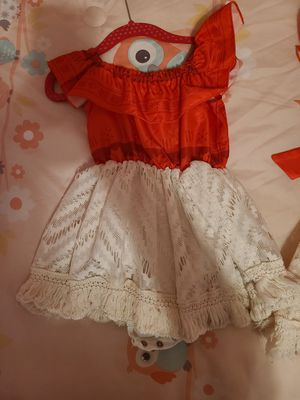 Moana Custom Dress Size 12-18months for Sale in Melrose Park, IL
