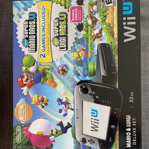 Nintendo Wii U - Mario & Luigi Deluxe Set!!! With Box Like New!!! for Sale in Miami, FL