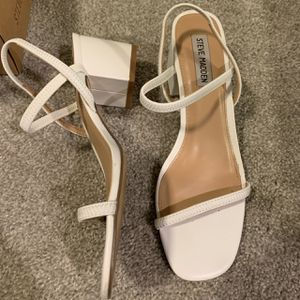 New Never Worn Steve Madden White Heels for Sale in Hillsboro, OR