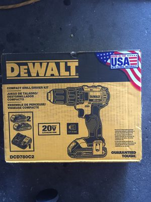 DeWALT Compact Drill/Driver Kit 20v Lithium Ion for Sale in Orlando, FL