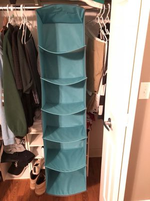 closet hanging organizer for Sale in Richmond Heights, OH