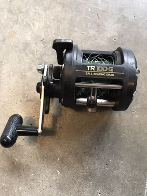 Shimano TR 100g fishing reel for Sale in Bellevue, WA