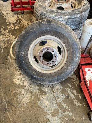 Chevy dually wheels for Sale in Dallas, TX