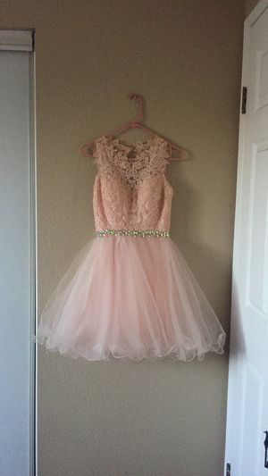 blush pink quinceanera dress for Sale in Norwalk, CA