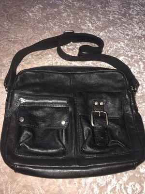 """"""" FOSSIL """"black leather Shoulder Bag for Sale in Portland, OR"""