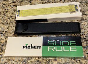(2) Pickett All Metal Slide Rules made in 1953 for Sale in Glendale, AZ