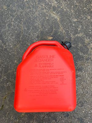 5 gallon gas can for Sale in Olney, MD