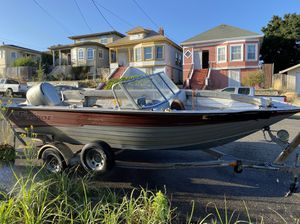 19Ft Alumweld Fisher w/ 130HP Honda!!! for Sale in Alameda, CA