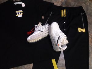 "UPDATE: SHOES ARE SOLD SORRY CAN B PREORDERED Off white set also have a pair of off white nike air max 90"" for Sale in Tampa, FL"