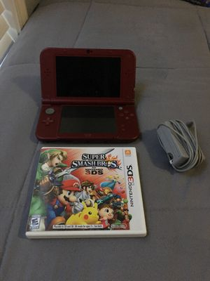 New Nintendo 3DS XL with super smash bros for Sale in Lawrenceville, GA