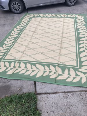 RV 9ft. By 11ft. Plastic rug almost new for Sale in Scottsbluff, NE